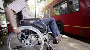 Mr Paulley was refused admission onto a bus in favour of a mother with a buggy.